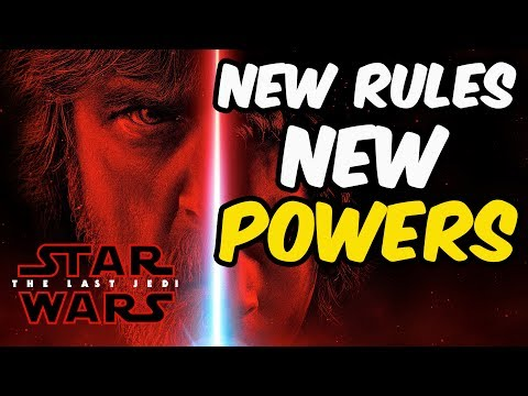 New Rules & New Powers In The Last Jedi? [STAR WARS]