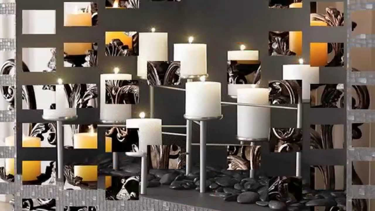 candle displays for fireplaces u2013 12 lovely designs and ideas youtube