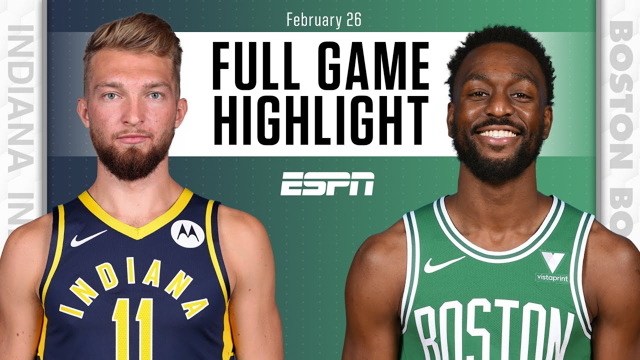 Indiana Pacers vs. Boston Celtics [FULL GAME HIGHLIGHTS] | NBA on ESPN
