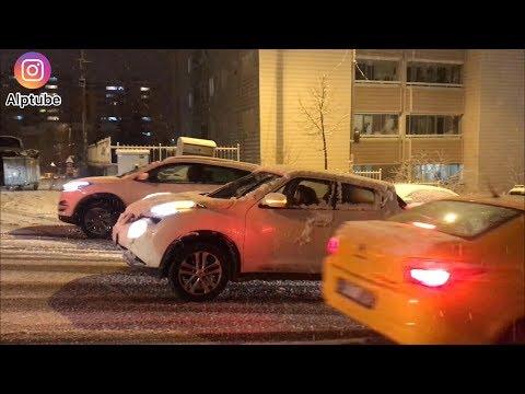 Karda Kayan Arabalar - ANKARA DİKMEN - Yeni