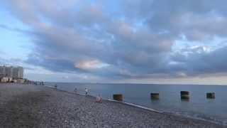 На пороге ЛЕТО! Вечер у моря в Лазаревском. Май 2015 год. Lazarevskoe SOCHI RUSSIA(Последний день весны - на пороге ЛЕТО! Майский тихий вечер у моря в Лазаревском. Несколько раз сегодня