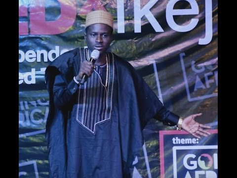 What is funny with being Blaq? | Kenny Blaq | TEDxIkeja