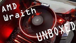 Biostar Racing B350GTN ryzen 7 1700 wraith cooler unboxing & m-itx installation (4k)