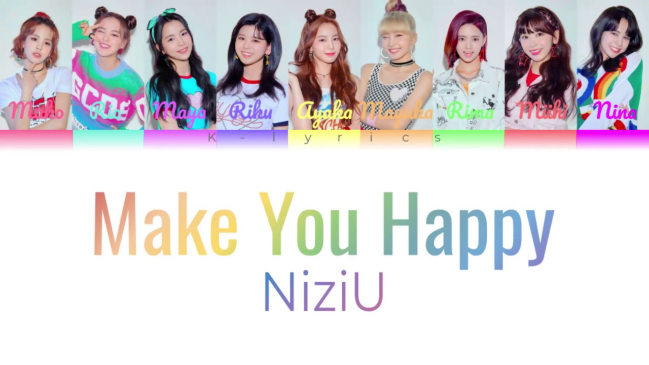 [Make you happy - NiziU] Color Lyrics - YouTube