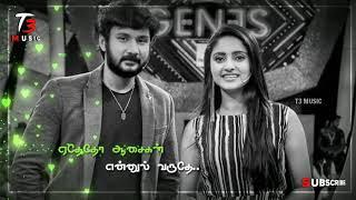 Sathya Serial Zee Tamil | Ethetho Aasaigal Ennul Varuthey Song | Female Voice | Lyric Status Video