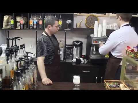 """Как приготовить кофе """"Карамель макиято"""" (Серия тренингов бариста от сети кофеен ТМ MY COFFEE)"""