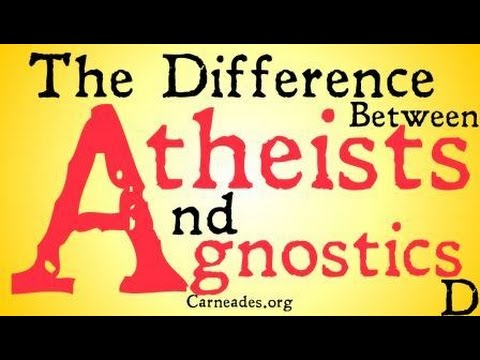 The Difference Between Atheists and Agnostics