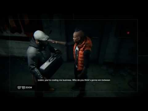 "Watch Dogs - Grandma's Dog: Anthony ""Iraq"" Wade & Tyrone ""Bedbug"" Wade ""It's A Weasel"" Scene PS4"