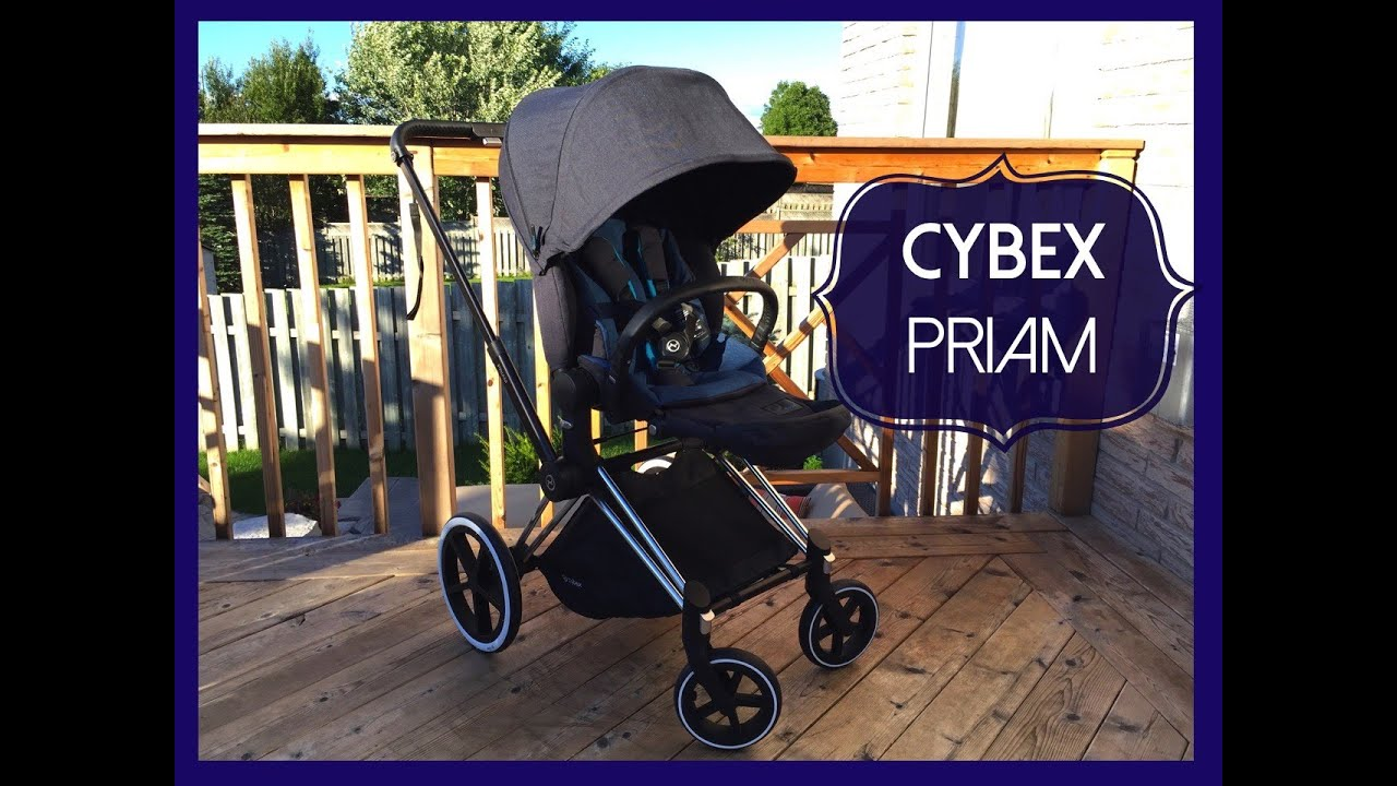 New! CYBEX Priam Stroller Review - YouTube