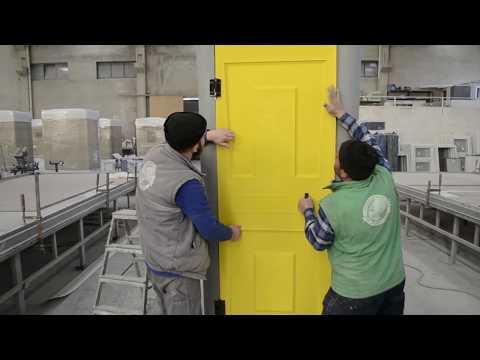 TOIPLAST | Plastic Toilet Cabin Assembly Process
