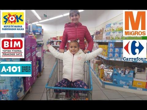 Draje challenge alışveriş, eğlenceli çocuk videosu