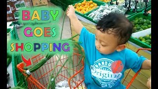 Baby Rei Goes Shopping - Belanja Bersama Baby Rei