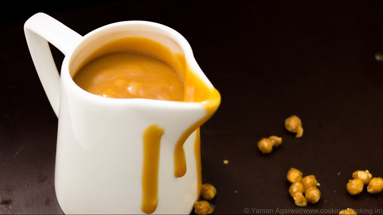 Homemade Butterscotch Sauce Recipe - Easy Basic Recipe | Perfect for ...
