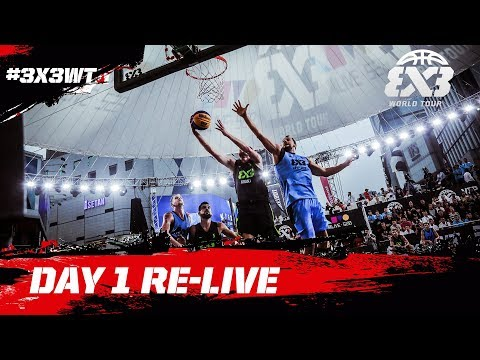 LIVE 🔴 - FIBA 3x3 World Tour Chengdu Masters 2017 - Day 1 - Chengdu, China