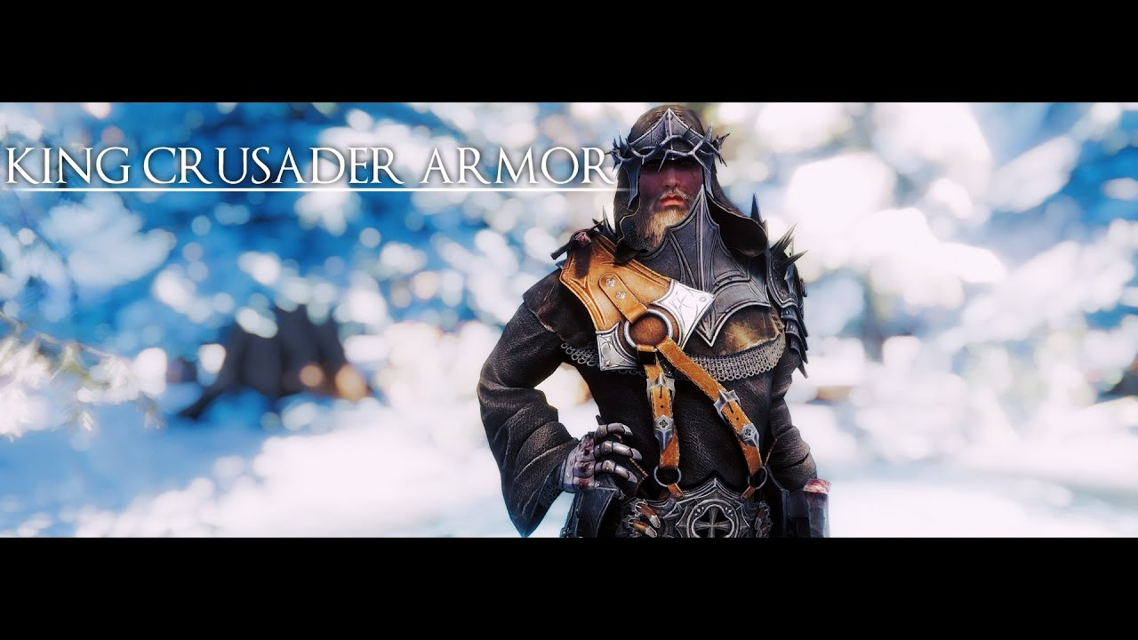 Skyrim Mod | DCR - King Crusader Armor