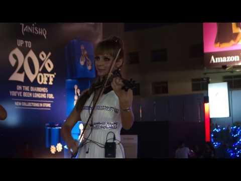 Bangalore Phoenix Mall Christmass IMported talent show