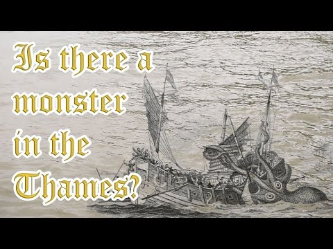 Is there a monster in the River Thames?