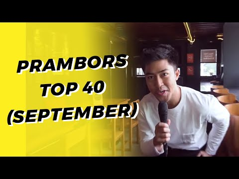 PRAMBORS TOP 40 CHART SEPTEMBER 2019