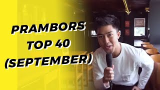 PRAMBORS TOP 40 CHART SEPTEMBER 2019