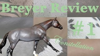 UNFORGETTTABLE  EXPERIENCE AT THE CUSTOM OFFICE - Breyer Review #1 ~ Constellation