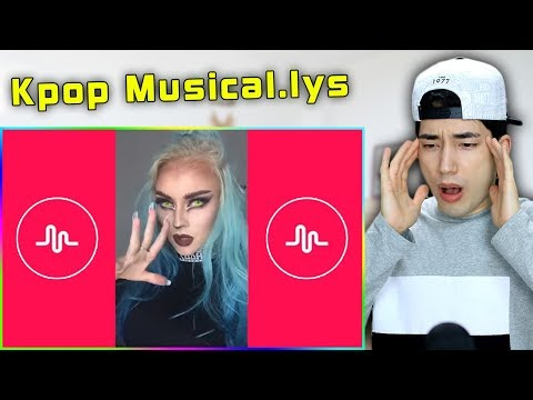 Reacting to Kpop Musical.lys