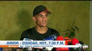 Junior recibe a La Equidad por la ida de los cuartos de la Liga Águila 2018 II: Transmite RCN