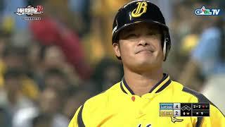09/29 Lamigo vs 兄弟 九局下,陳禹勳登板救援,霸氣飆出3次三振,守住球隊的勝利
