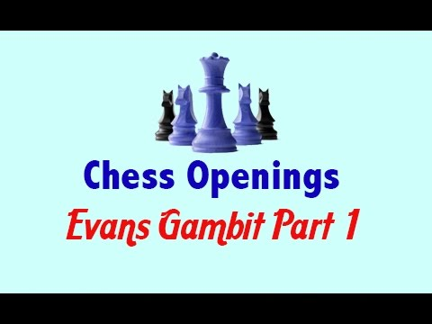 Chess Openings  Evans Gambit Part 1   Chess WebsiteChess