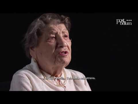 Marta Szilárdová: Osvienčim a pochod smrti