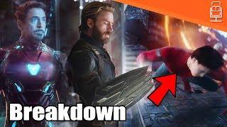 Avengers Infinity War Super Bowl Trailer BREAKDOWN