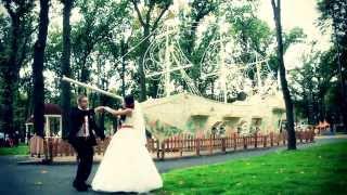 Веселый свадебный клип Виталик и Эля