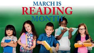 Sen. Theis celebrates March is Reading Month |