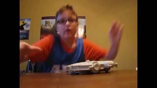 Star Wars micromachines millennium falcon review!!!!