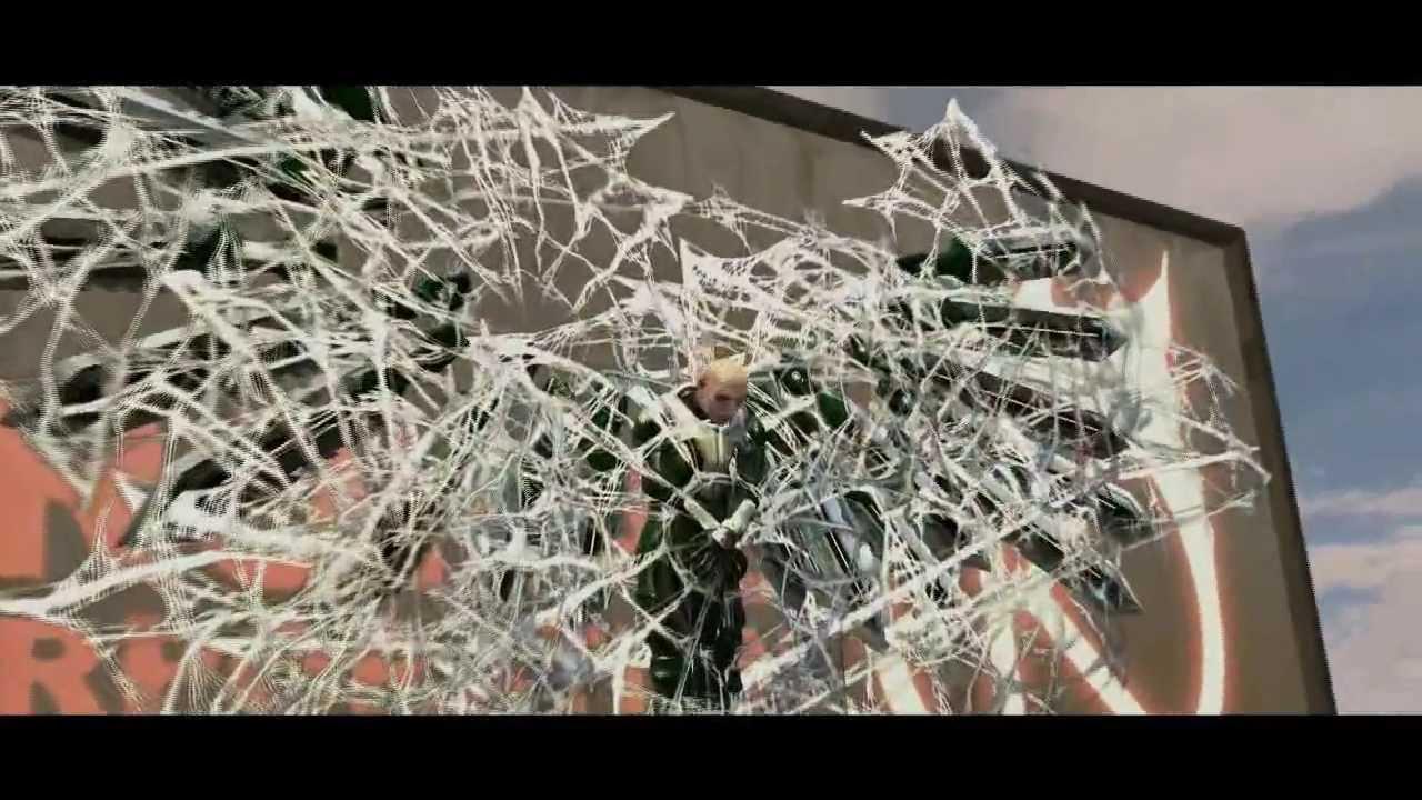 Spiderman Web of Shadows PC - Vulture Fight Black Suit ...