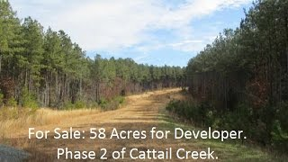 Available: 58 Acres for Development of 21 homes Siler City