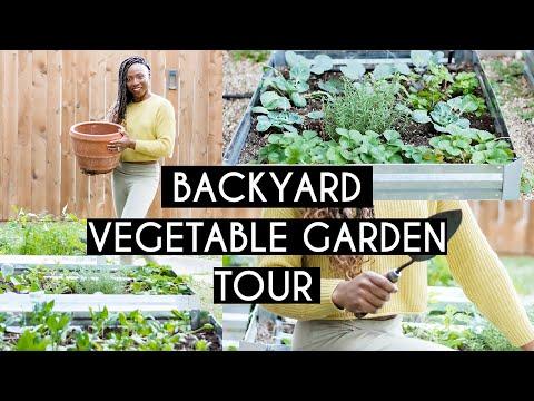 DIY Raised Garden Bed Tour   City Backyard Gardening