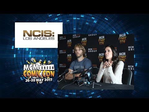 NCIS LA - Daniela Ruah and Eric Christian Olsen at MCM