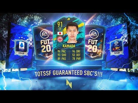 GUARANTEED SERIE A & CSL / EREDIVISIE TOTS SBC! [Player Moments Kamada SBC] - FIFA 20 Ultimate Team