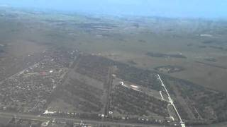 PU 366  EZE-MVD Take off from Buenos Aires ..flight to Montevideo
