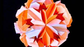 How To Make Leroy's Origami Chrysanthemum Icosahedron Kusudama