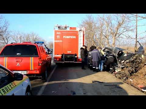 2018 01 15 Accident rutier Anenii Noi
