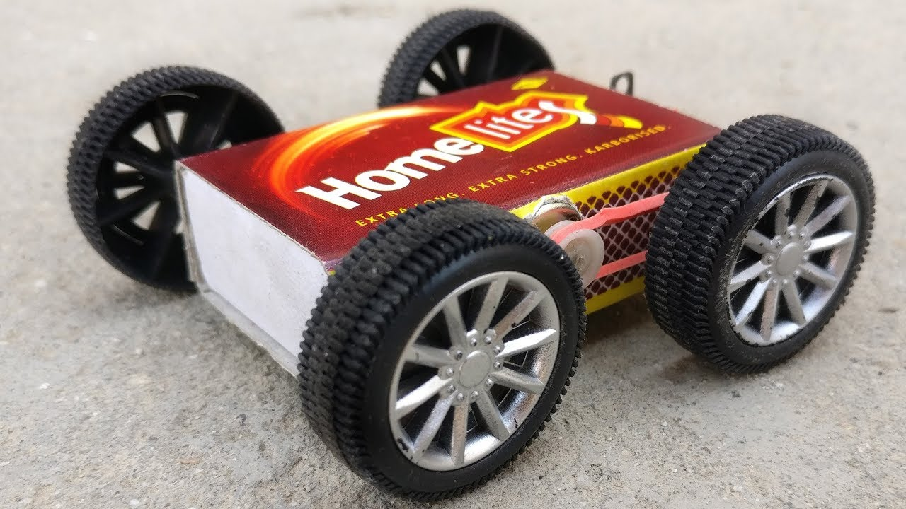 How To Make A Ful Mini Matchbox Toy Car At Home