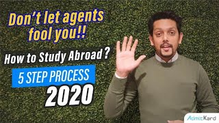 How To Study Abroad   5 Step Process you need to follow (2020)