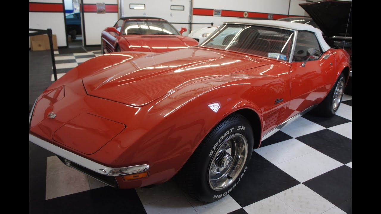 1970 Corvette Stingray Roadster For Sale-Ontario Orange~350/270~Auto ...