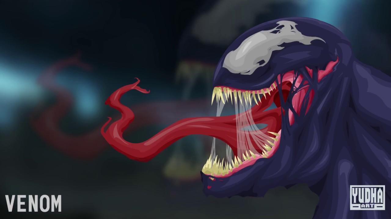 Venom Grin Vector: Vector Vexel Tutorial