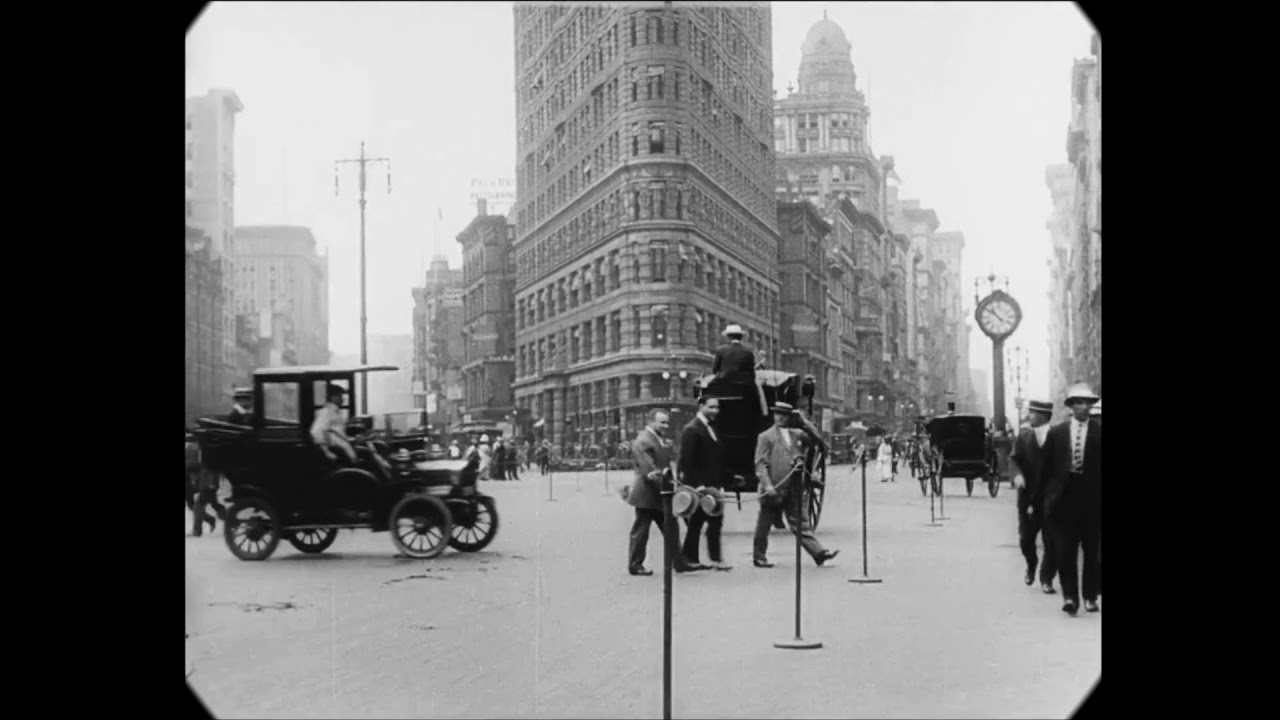 A Trip through New York City 1911