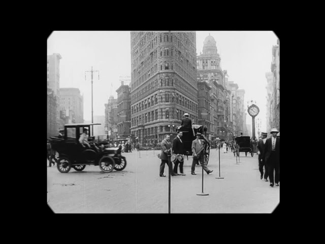 1911 – A Trip Through New York City (speed corrected w/ added sound)