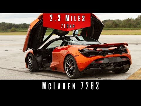 Watch stock McLaren 720S beat its declared top speed