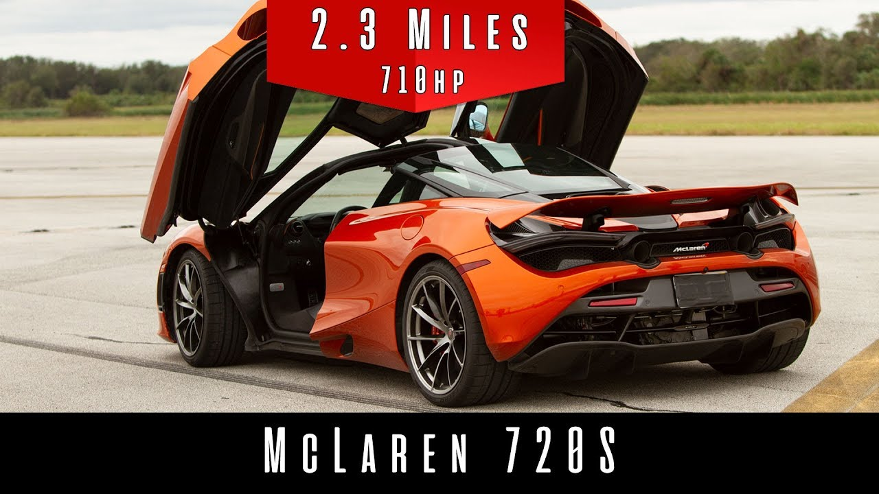 2018 McLaren 720S (Top Speed Test) NEW WORLD RECORD