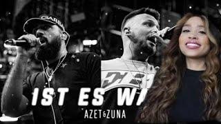 Azet & Zuna - Ist es Wahr - Jenny live Reaction
